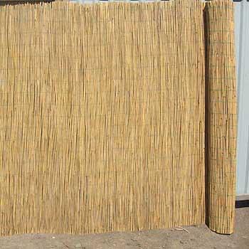 Забор из тростника 160 x 600 см