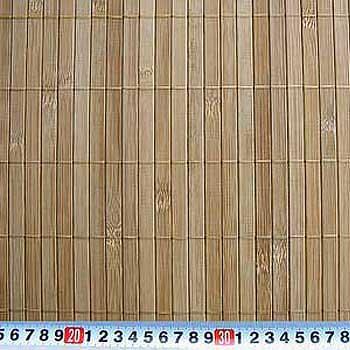 Бамбуковые обои с нитью КОФЕ11 мм