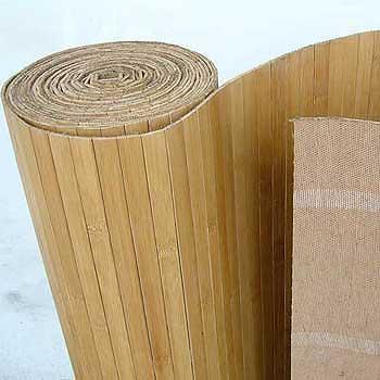 Бамбуковые обои Тон 1 17 мм 180 см.