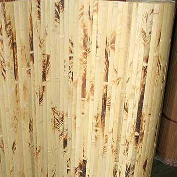 Бамбуковые обои Жёлтая черепаха 200 см