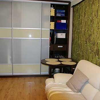 Бамбуковое полотно зелёное фото