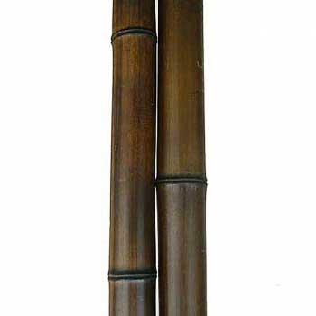 Половинка бамбука шоколад 4-5 см