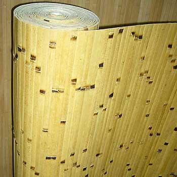 Бамбуковые обои Берёзка 17 мм 200 см