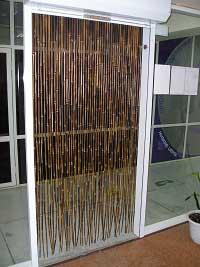 Штора бамбуковая