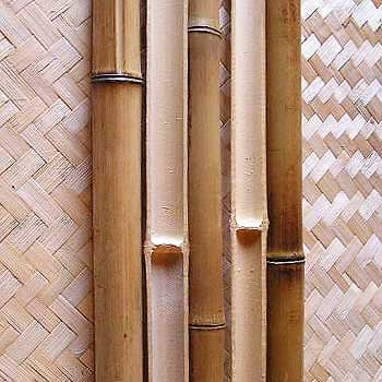 Половинка бамбука стандарт 3 - 4 см