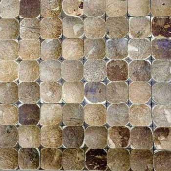 Мозаика кокосовая DTM-004