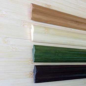 Кромочная планка Зелёная с рисунком