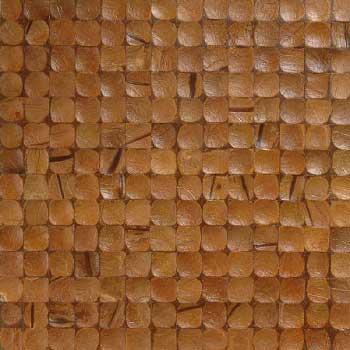 Мозаика кокосовая Карамель интерно