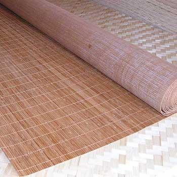 Бамбуковые обои с нитью КОФЕ 4,8 90 см
