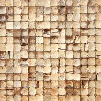 Мозаика кокосовая Латте интерно