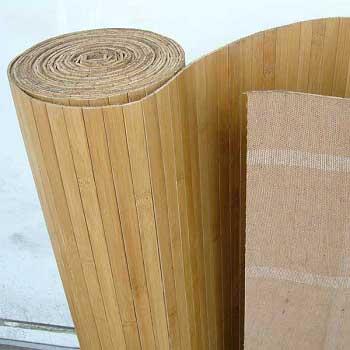 Бамбуковые обои Тон 1 17 мм 90 см.