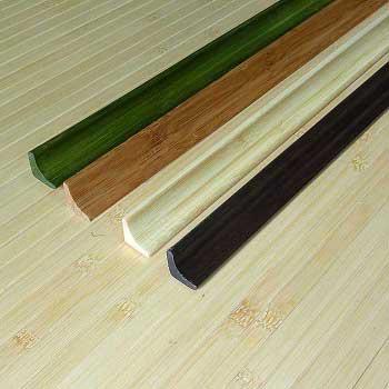 Плинтус из бамбука фото