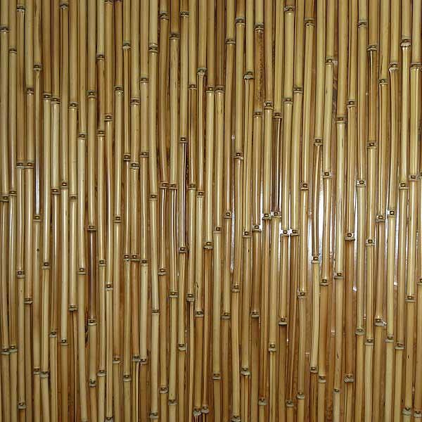 Штора бамбуковая светлая