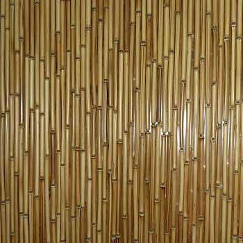 Штора бамбуковая светлая под заказ