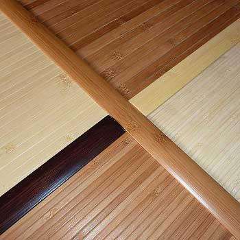 Стыковочная планка из бамбука фото