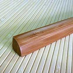 Планка для внутреннего угла из бамбука Кофе