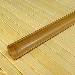Плинтус из бамбука кофе
