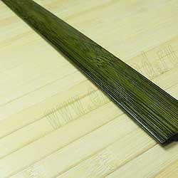 Стыковочная планка из бамбука зелёная фото