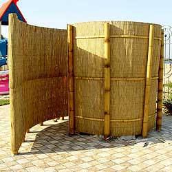 Тростниковый забор