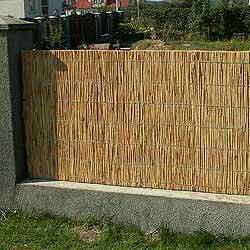 Забор из тростника 120 x 300 см