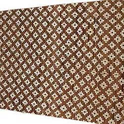 Плита бамбуковая Цветы светлые HDT однослойная 100 х 190