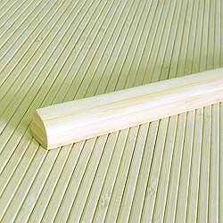 Планка для внутреннего угла из бамбука натуральная