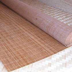 Бамбуковые обои с нитью КОФЕ 4,8 180 см