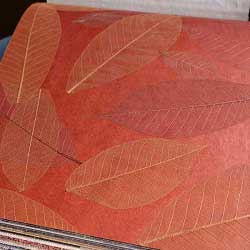 Натуральные обои  Листья Прима Рохо