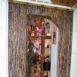 Штора бамбуковая комбинированная фото 2