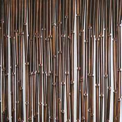 Штора бамбуковая тёмная