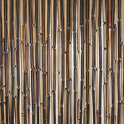 Штора бамбуковая комби