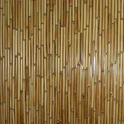 Штора бамбуковая светлая по вашим размерам