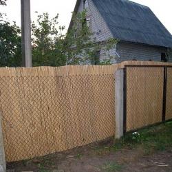 ростниковый забор купить для дачи