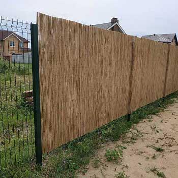 Тростниковый забор 200 x 300