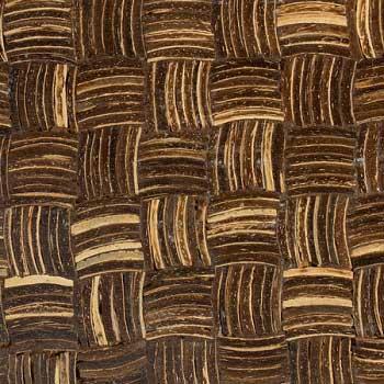 Мозаика кокосовая  Зебрано