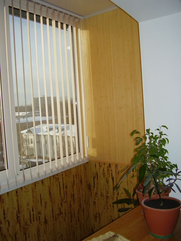 Бамбуковые обои - бамбуковые обои на балконе.