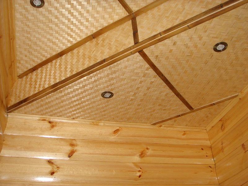 Панели и половинки бамбука