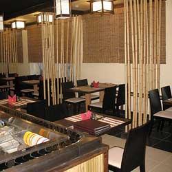Бамбук в кафе