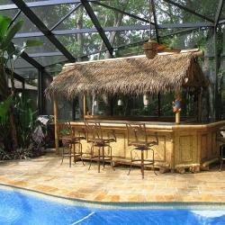 Барная стойка из бамбука
