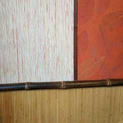 Бамбук в качестве стыковочной планки