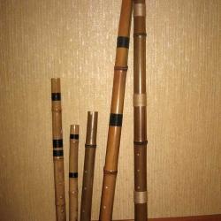 Музыкальные инструменты из бамбука