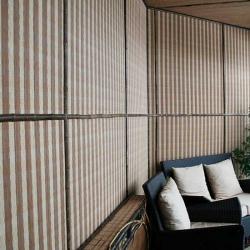 Бамбуковые половинки в дизайне
