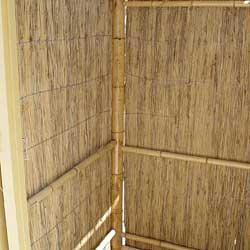 Бамбук и тростник  в интерьере